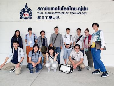 泰日工業大学訪問